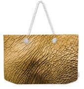 Closeup Of An African Elephant Weekender Tote Bag