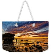 Closing Colors Weekender Tote Bag