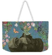 Clothed, Because You Are Watching Me. Weekender Tote Bag