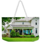 Clothes On The Front Porch Weekender Tote Bag