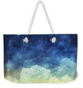 Cloud And Sky At Night Weekender Tote Bag