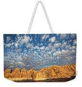 Cloud Burst Weekender Tote Bag