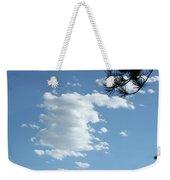 Cloud Busting Weekender Tote Bag
