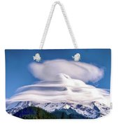 Cloud Cap Weekender Tote Bag