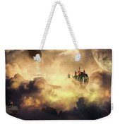 Cloud Castle Weekender Tote Bag