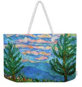 Cloud Color Weekender Tote Bag