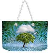 Cloud Cover Recurring Weekender Tote Bag