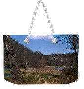 Cloud Destination Weekender Tote Bag