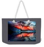 Cloud Fantasia Reflected L A S Weekender Tote Bag