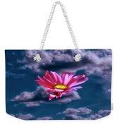 Cloud Flower.  Weekender Tote Bag