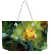 Cloud Flowers Weekender Tote Bag
