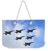 Cloud Formation Weekender Tote Bag