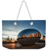 Cloud Gate At Sunrise Weekender Tote Bag