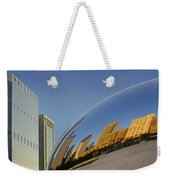 Cloud Gate - Reflection - Chicago Weekender Tote Bag