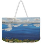 Cloud Lake Weekender Tote Bag