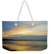 Cloud Letters Weekender Tote Bag