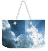 Cloud Light  Weekender Tote Bag