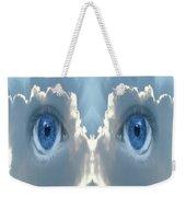 Cloud Mask Weekender Tote Bag