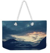 Cloud Mountain Reflection Weekender Tote Bag