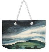 Black Cloud Weekender Tote Bag