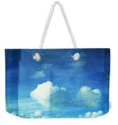 Cloud Painting Weekender Tote Bag