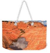 Cloud Pocket Weekender Tote Bag