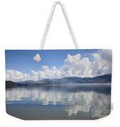 Cloud Reflection On Priest Lake Weekender Tote Bag