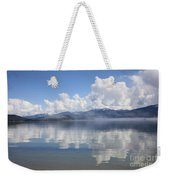 Cloud Reflection On Priest Lake Weekender Tote Bag
