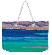 Cloud Sea View Weekender Tote Bag