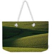 Cloud Shadows On New Growing Crop Weekender Tote Bag