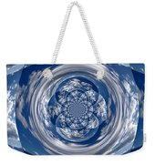 Cloud Spiral Weekender Tote Bag