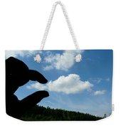 Cloud Squeeze Weekender Tote Bag