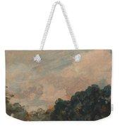 Cloud Study With Trees Weekender Tote Bag