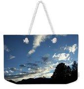 Cloud Sweep And Silhouette Weekender Tote Bag