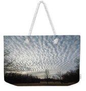 Cloud Symmetry Weekender Tote Bag