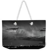 Cloud To Cloud Lightning Boulder County Colorado Bw Weekender Tote Bag