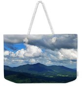 Clouded Landscape Weekender Tote Bag