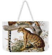 Clouded Leopard, 1883 Weekender Tote Bag