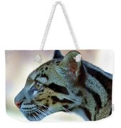 Clouded Leopard Weekender Tote Bag