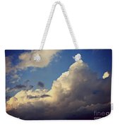 Clouds-3 Weekender Tote Bag