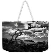 Clouds And A Tree Baw Weekender Tote Bag