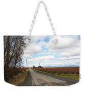 Clouds And Blueberry Bushes Weekender Tote Bag
