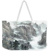 Clouds And Mountains Weekender Tote Bag