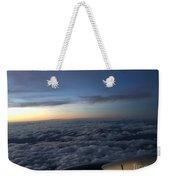 Clouds And Plane Weekender Tote Bag