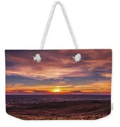 Clouds And Sunset Weekender Tote Bag