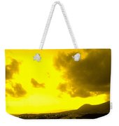 Clouds At Sunset Over Basseterre Weekender Tote Bag