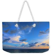 Clouds Drifting Over The Ocean Weekender Tote Bag