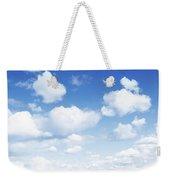 Clouds In Blue Sky Weekender Tote Bag