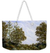 Clouds In Foothills Weekender Tote Bag