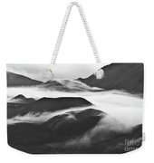 Maui Hawaii Haleakala National Park Clouds In Haleakala Crater Weekender Tote Bag